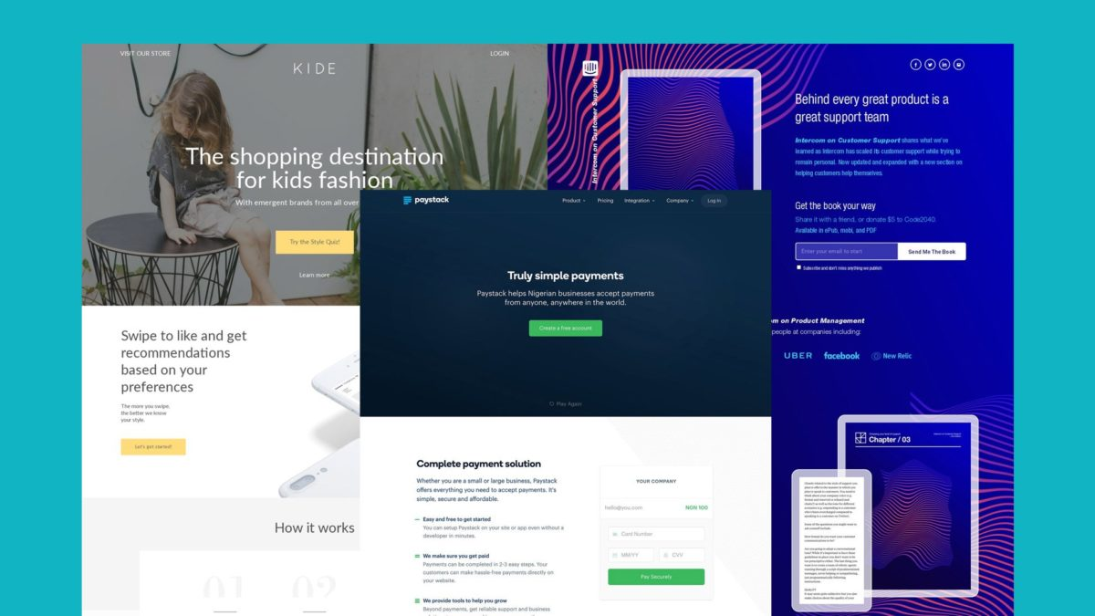 Significance of Landing Page