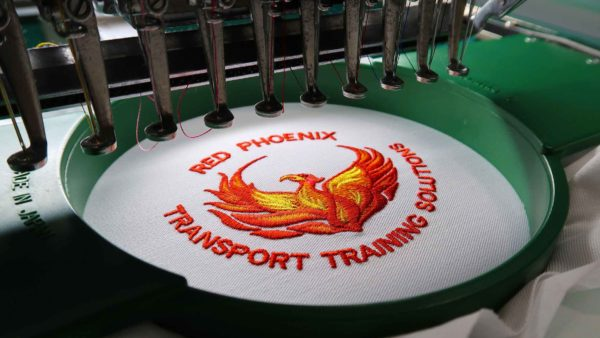 Logo embroidery service